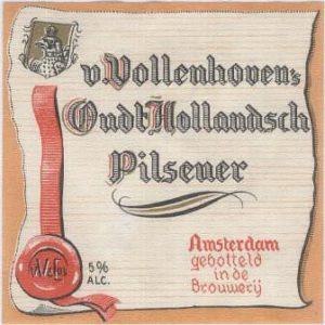 Etiket Van Vollenhoven Pilsener