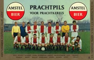 Ajax amstelbier reclame Johan Cruijff