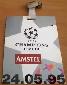 Amstel Champions League badge